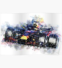 Daniel Ricciardo F1 2018 Poster