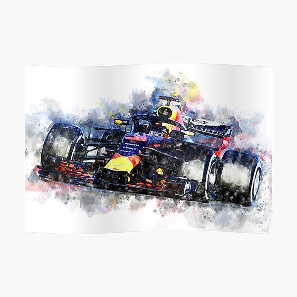 Daniel Ricciardo F1 2018 Póster
