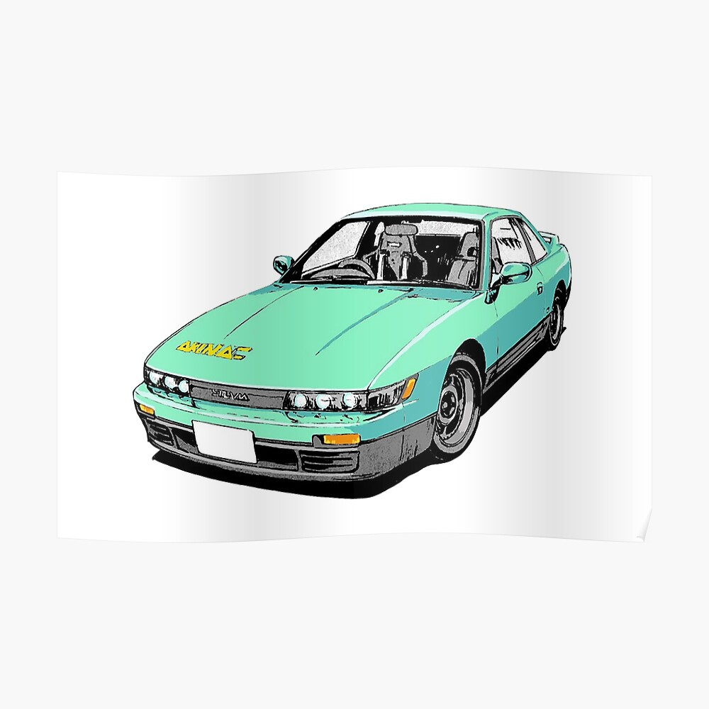 V2 Voiture Autocollant Vinyle Véhicule Graphique Autocollant INITIAL D Akina Speed Stars