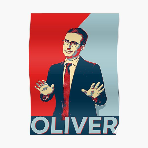 John Oliver - Last Week Tonight Poster
