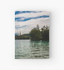 Panorama of Bled (Slovenja) Hardcover Journal