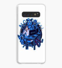 iamfallfromgrace - NOOYYY - Blue Case/Skin for Samsung Galaxy