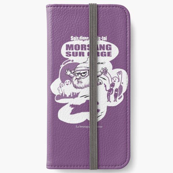 Morsang sur Orge Étui portefeuille iPhone