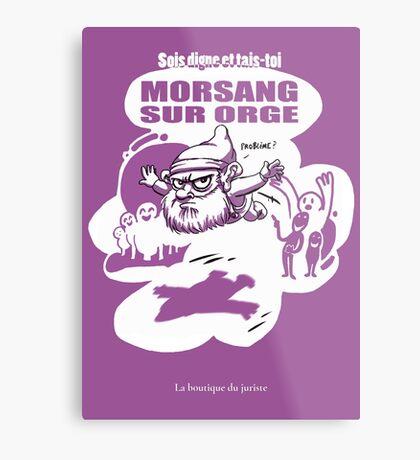 Morsang sur Orge Impression métallique