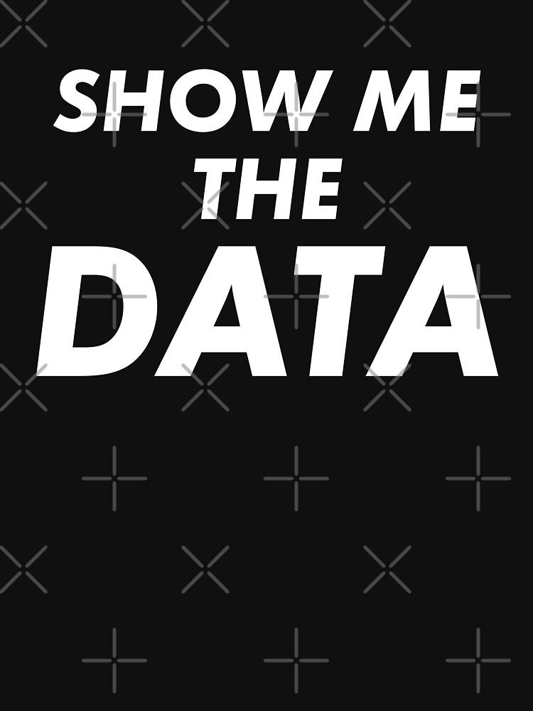 Show Me The Data by teesaurus