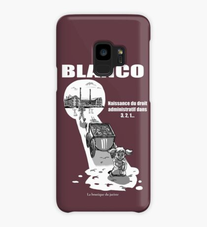 Blanco Coque et skin Samsung Galaxy