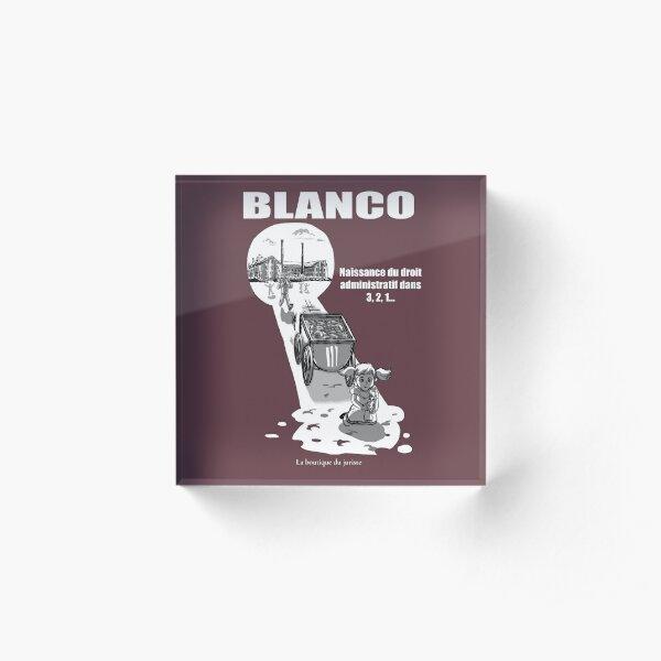 Blanco Bloc acrylique