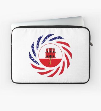 Gibraltarian American Multinational Patriot Flag Series Laptop Sleeve