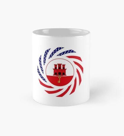 Gibraltarian American Multinational Patriot Flag Series Mug