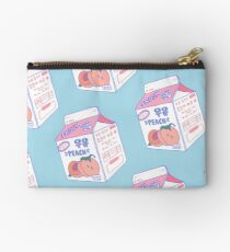 Peach Milk Carton Studio Pouch
