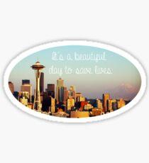 Beautiful Day Sticker
