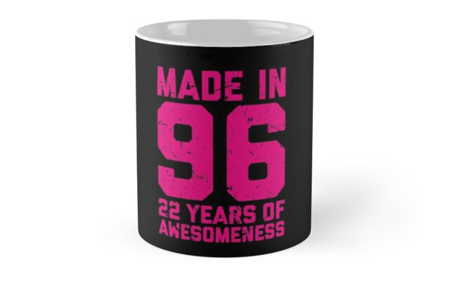 22nd Birthday Gift Adult Age 22 Year Old Women Womens By Matt L