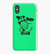 Pip Boy Club  iPhone Case