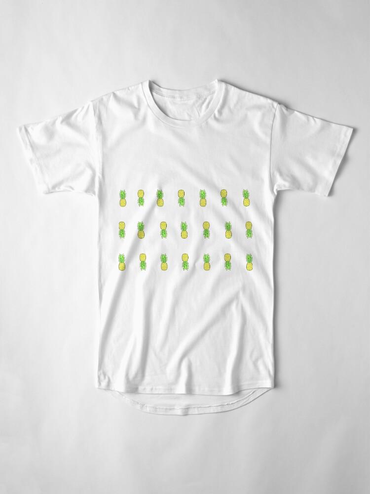 Alternative Ansicht von viele kleine Ananas im Stil Longshirt
