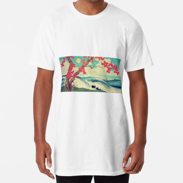 Waking to the Wild and Beautiful Ocean of Dhin Long T-Shirt