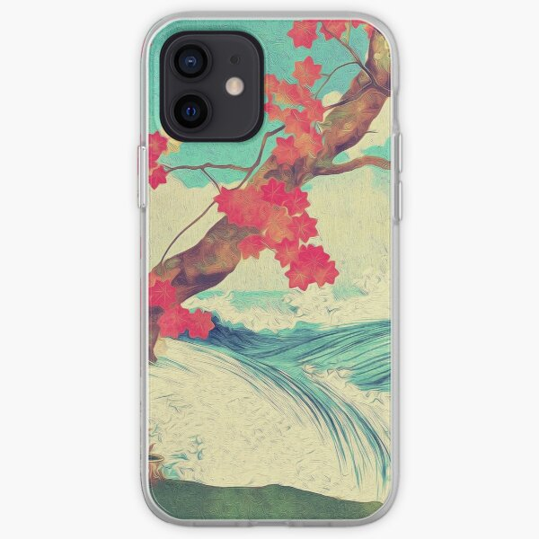 Waking to the Wild and Beautiful Ocean of Dhin iPhone Soft Case