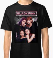 Schwarz Rosa Classic T-Shirt