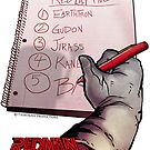 Redman Red List 5 by Night-Shining