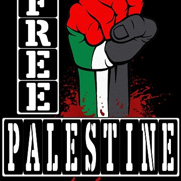 FREE PALESTINE by Paparaw