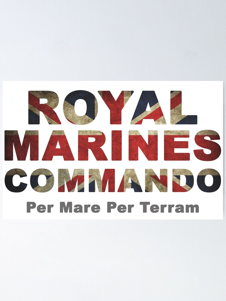 Alternate view of Royal Marines  Poster