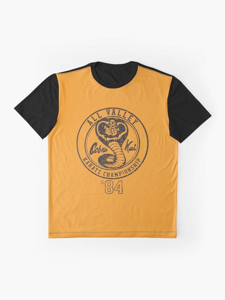 Alternative Ansicht von Cobra Kai Grafik T-Shirt