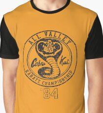 Cobra Kai Grafik T-Shirt