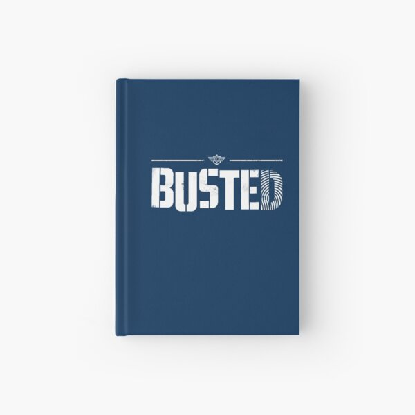 Busted Netflix Hardcover Journal