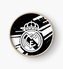 Real Madrid White Clock