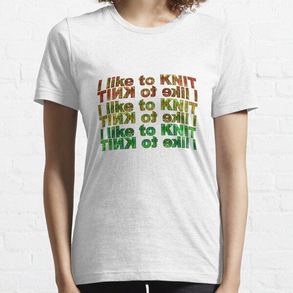 I like 2 knit! Essential T-Shirt