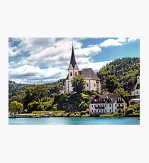 Maria Worth - Pilgrimage Church Photographic Print