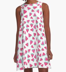 Watermelon slices A-Line Dress