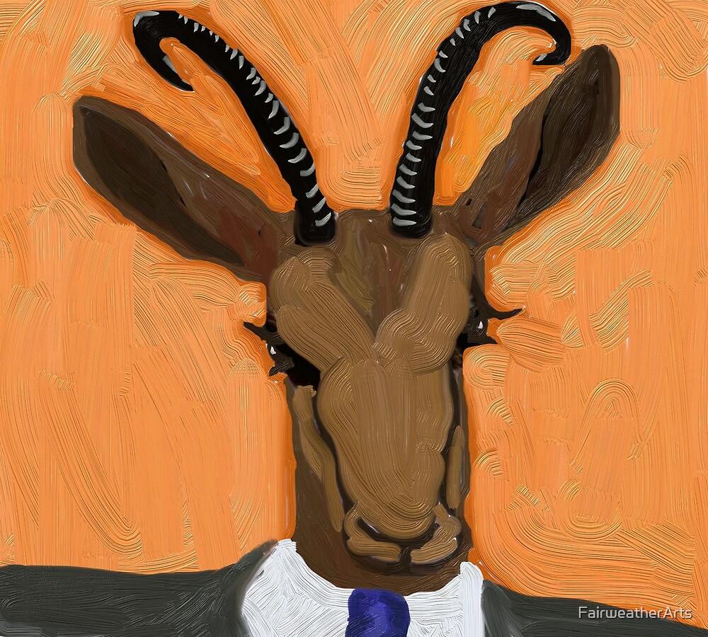Barak Okapi by FairweatherArts