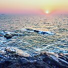 Sunset at fort Aguada by Svetlana Korneliuk