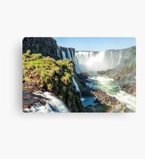 Around the Throat - Iguazu Falls Metal Print