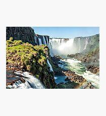 Around the Throat - Iguazu Falls Photographic Print