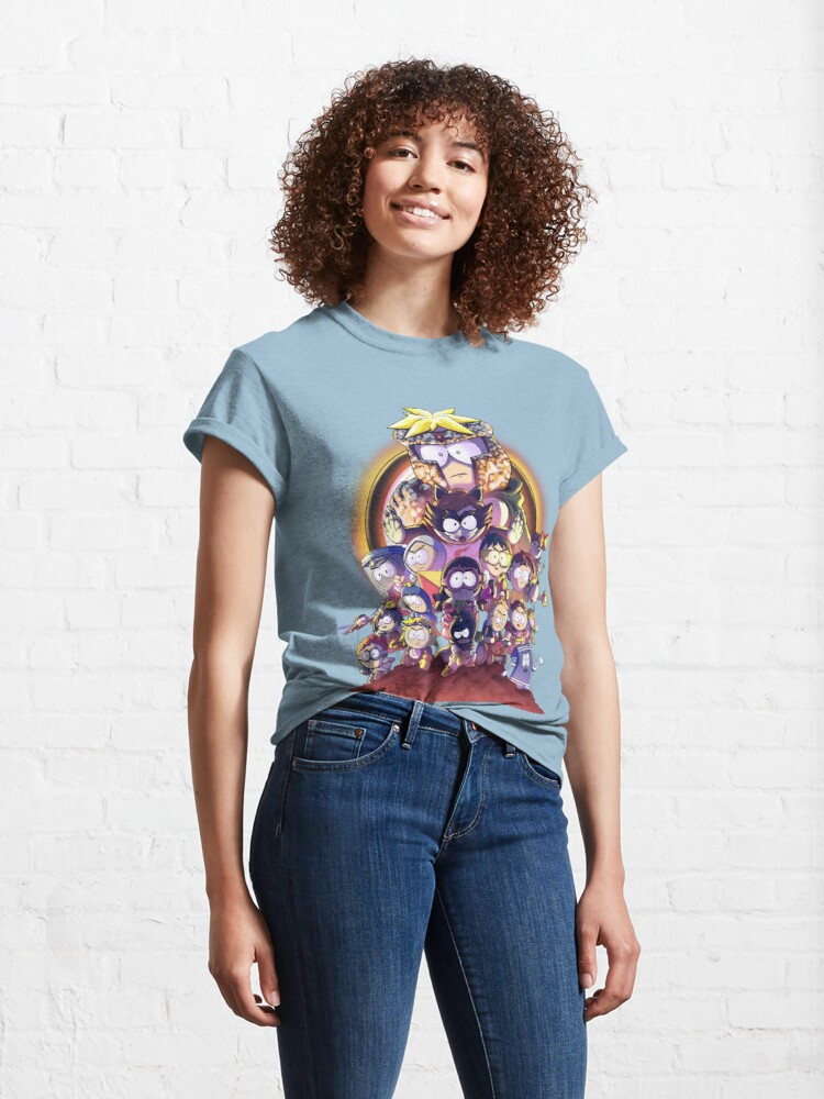 Alternate view of South Park - Infinity War Classic T-Shirt