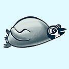 Cute Penguin by Denis Klook