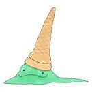 Fallen Minty Ice Cream Monster by TakoraTakora