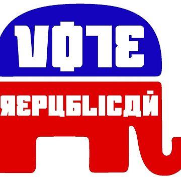 Vote Republican by Antigen