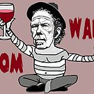 TOM WAITS. RED VINE. by rubanovart