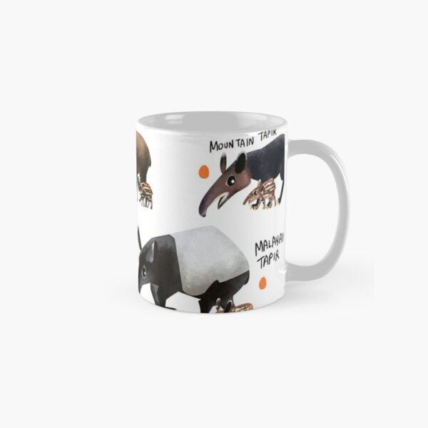 Tapirs of the World Classic Mug