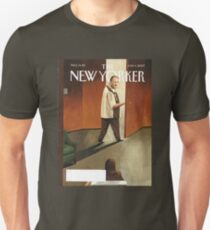 3036a8dcc TONY SOPRANO NEW YORKER COVER Slim Fit T-Shirt