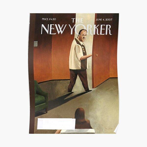 TONY SOPRANO NEW YORKER COVER Poster