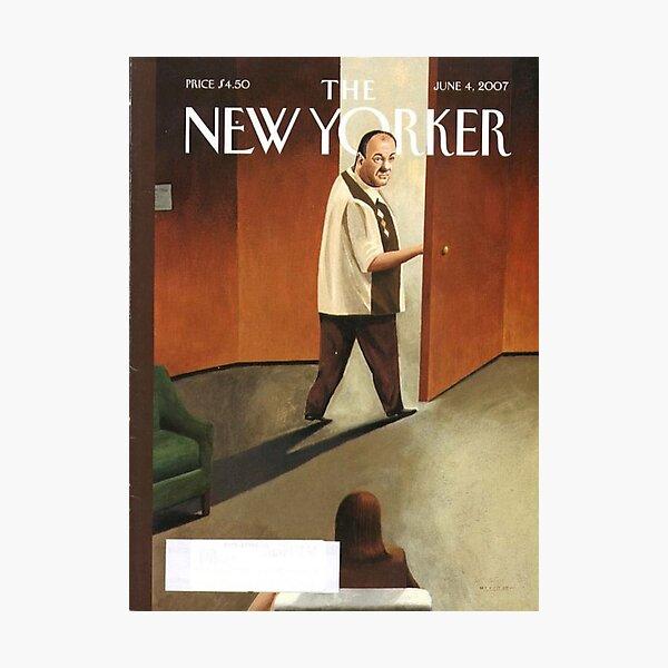 TONY SOPRANO NEW YORKER COVER Photographic Print
