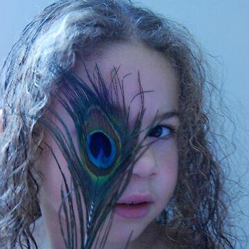 Peacock eye by Inese