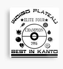 Elite four champion  Metal Print