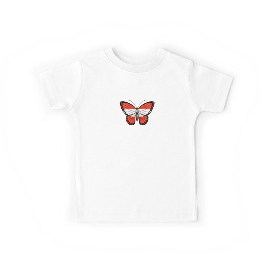 Austrian Flag Butterfly by jeff bartels