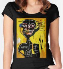 Jean Michel Basquiat - Cabeza -1982  Women's Fitted Scoop T-Shirt
