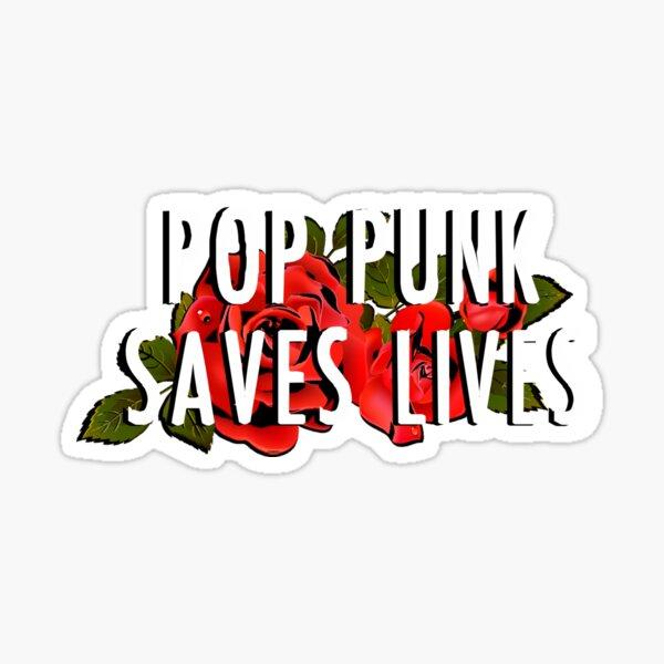 Pop Punk Saves Lives Sticker