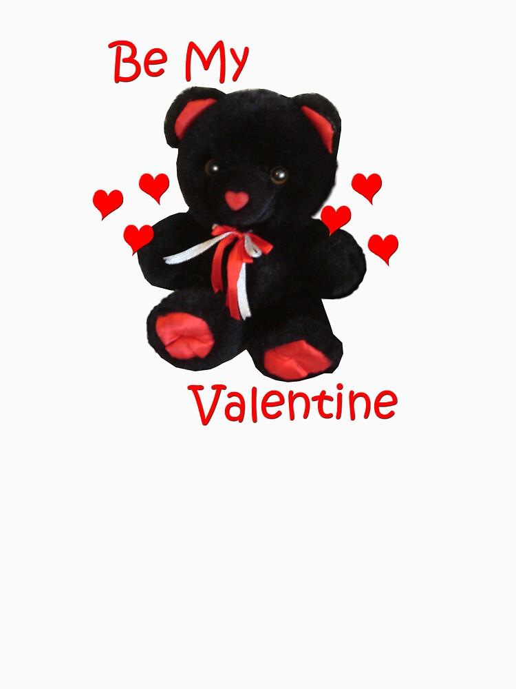 Valentines Bear by demijohn